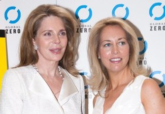 Queen Noor and Valerie Plame Wilson