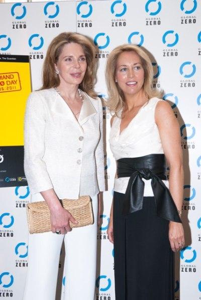 Queen Noor and Valerie Plame Wilson