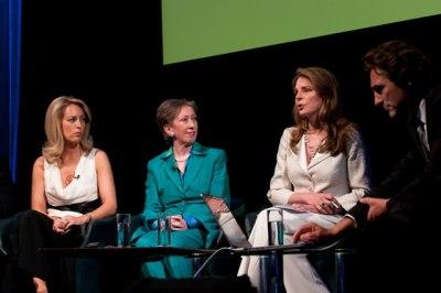 Valerie Plame Wilson, Margaret Beckett, Queen Noor, and Lawrence Bender